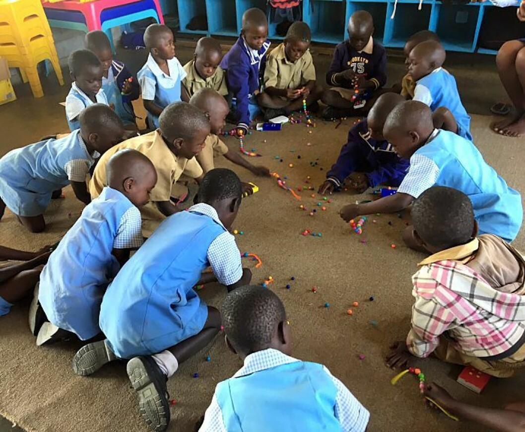En barnehageplass bidrar til at noen av barna får en trygg barndom og at de er godt forberedt til skolestart når den tid kommer.