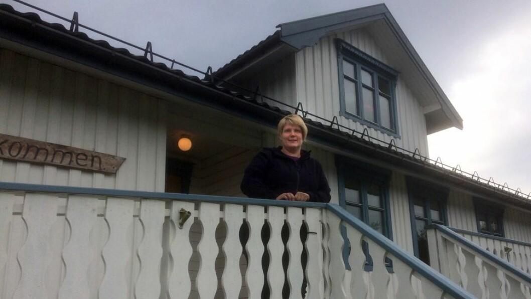 Styrer Nina Reitan i Sylteren barnehage føler at de blir straffet for at de har holdt bemanningen oppe til tross for at de holder til i en kommune som betaler ett av landets laveste tilskudd. Foto: Privat