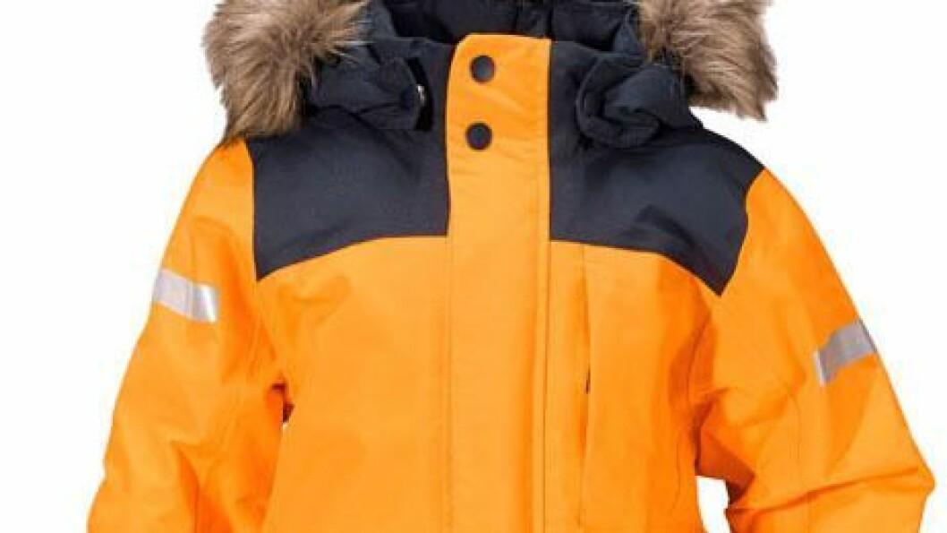 Didriksons Bjørnen er av svenske Testfakta kåret til årets beste vinterdress - i konkurranse med ni andre modeller. Foto: Didriksons