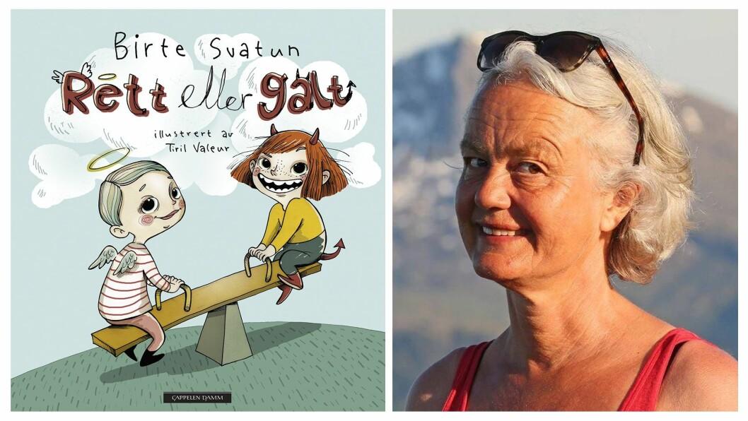 Birte Svatun har hentet dilemmaer fra den virkelige verden. Nå kommer denne boka fra 2009 ut i ny utgave.