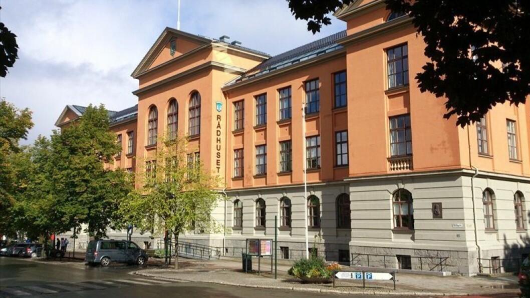 Administrasjonen i Trondheim kommune har lagt fram sitt forslag. I løpet av høsten skal budsjettet opp til politisk behandling. Foto: Knut A. Rosvold, Store Norske Leksikon