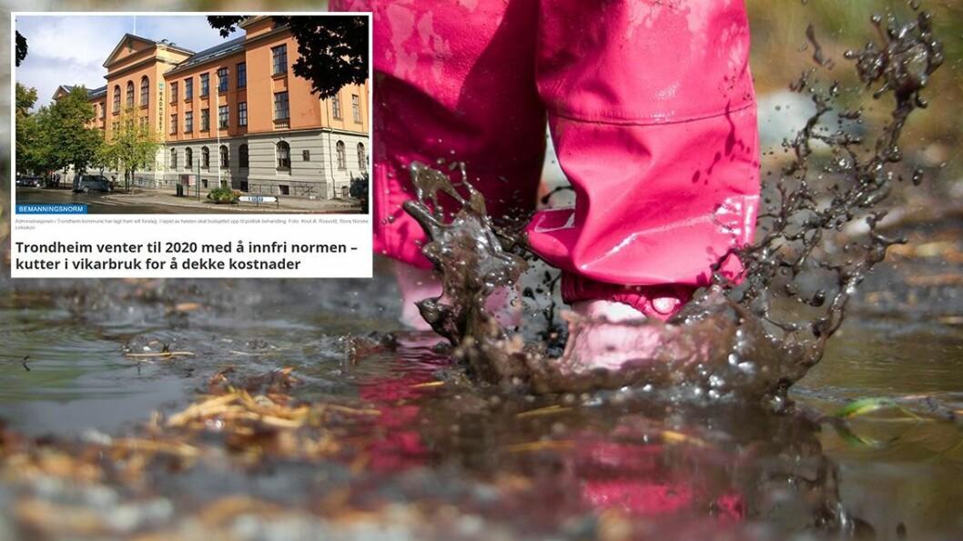 Aksjonsgruppe i Barnehageopprør mener at eksempelet fra Trondheim er et