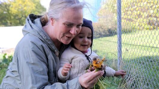 – Når man er ute i naturen åpner alle sansene seg og man er veldig til stede, sier Eldrid Aandahl.