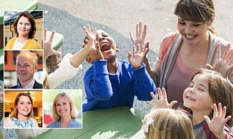 Les deres hilsener til barnehagelærerne på «Verdens lærerdag»