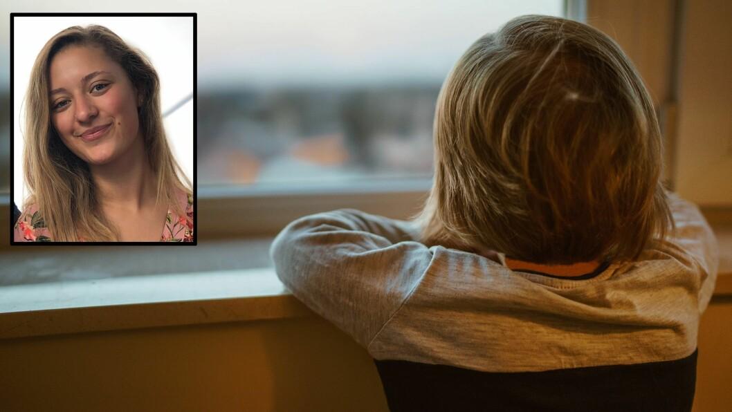 Barnehagelærerstudent Chaymaa Ben Sliman har skrevet en tekst om hvordan barnet oppfatter det når det ikke er nok voksne til å se, høre og være tilstede for barna i barnehagen. Illustrasjonsfoto: Getty Images