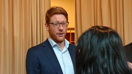 Arbeiderpartiets Martin Henriksen er klar på at partiet vil satse mer på barnehage enn regjeringen.