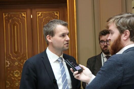 KrFs finanspolitiker, Kjell Ingolf Ropstad.