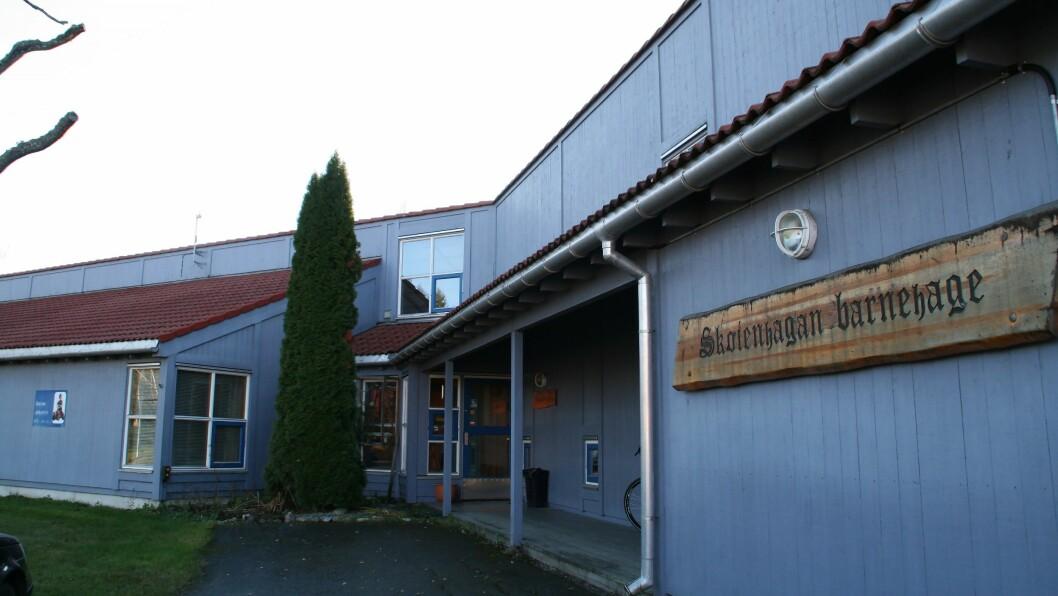 Skøienhagan barnehage er bygget i 1989. Foto: Løten kommune