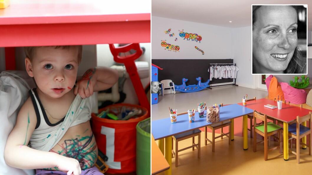Har det noen betydning for foreldre og andre som kommer på besøk i barnehagen om de møter det ene eller det andre? Spør Jeanette SJetne.