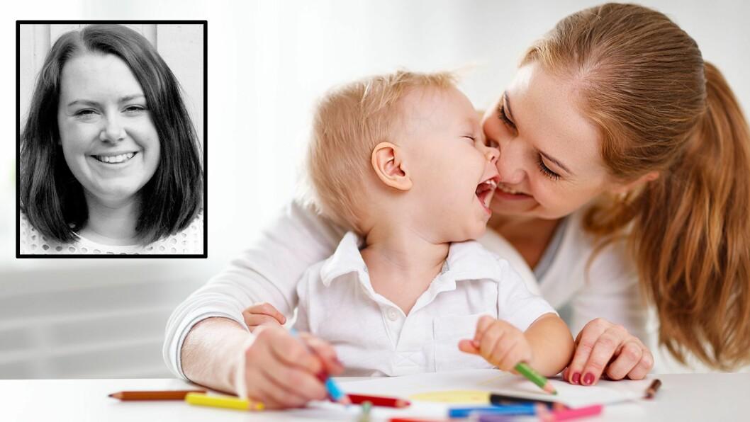 """""""Barnehagetanta"""" Kathrine M. Fagereng har skrevet om hvor mye positiv energi påvirker miljøet i barnehagen. Illustrasjonsfoto: Getty Images"""