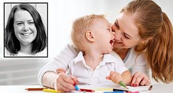 Smil til barnet, og barnet smiler til deg