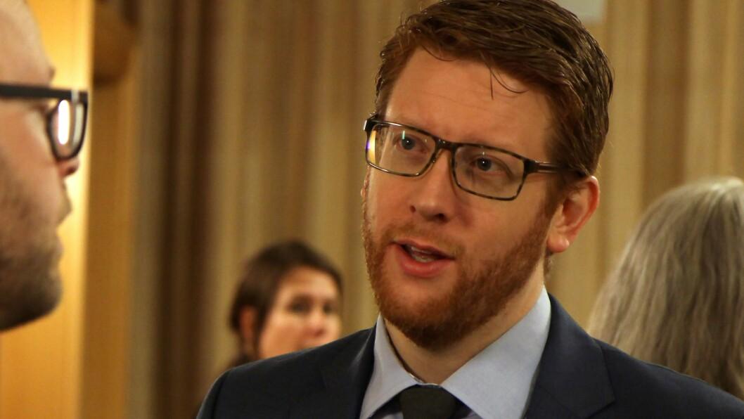 Martin Henriksen er utdanningspolitisk talsperson i Arbeiderpartiet. Foto: Øyvind Johansen