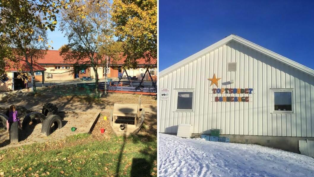 Både Flaggstanghaugen og Toftsundet barnehage foreslås nedlagt.