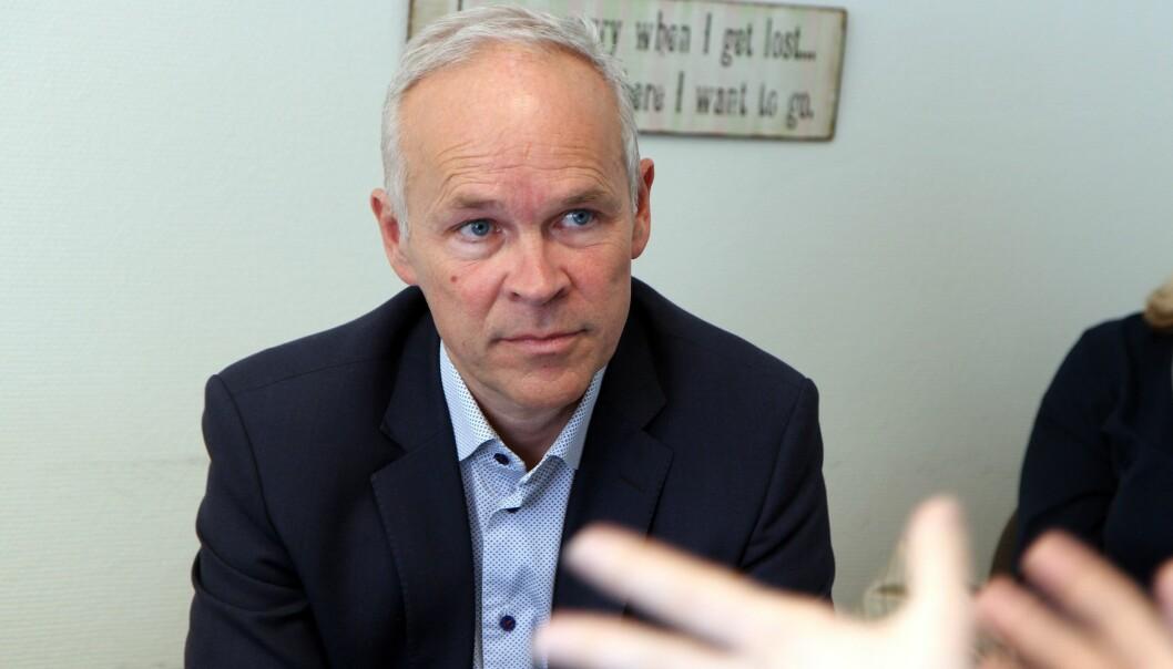 Tidligere kunnskaps- og integreringsminister Jan Tore Sanner (H) pekte på at dagens system for spesialundervisning ikke er god nok, da piloten ble lyst ut sommeren 2019. Bildet er tatt i en annen sammenheng.
