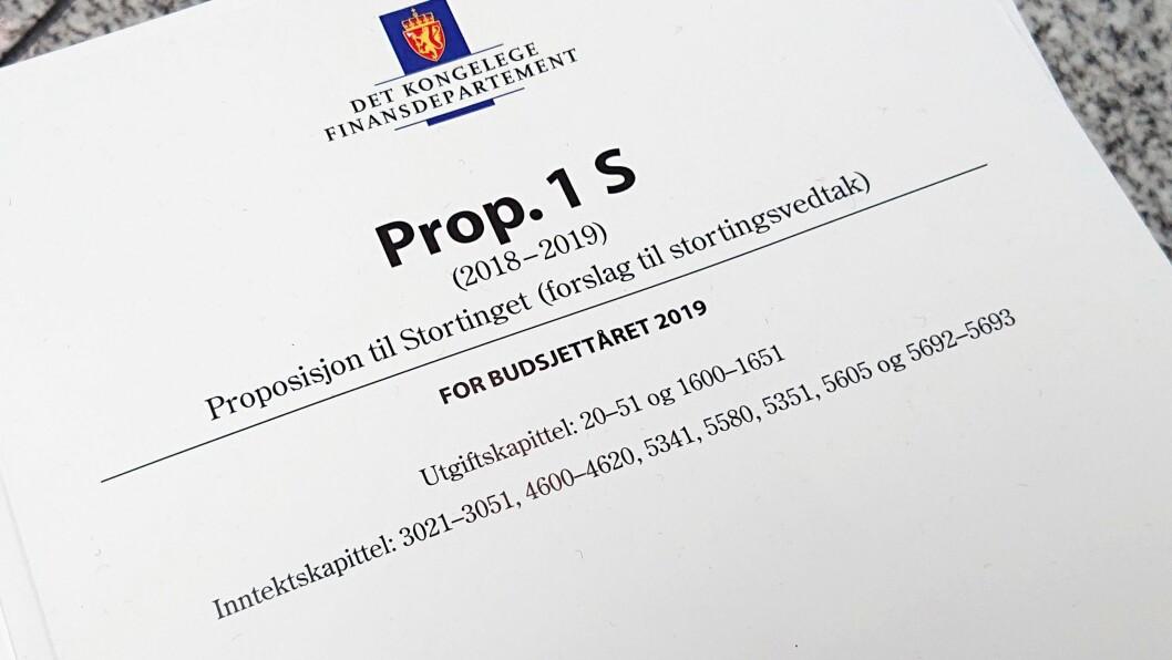 Regjeringens forslag til statsbudsjett var tirsdag gjenstand for høring i Stortingets utdannings- og forskningskomite.