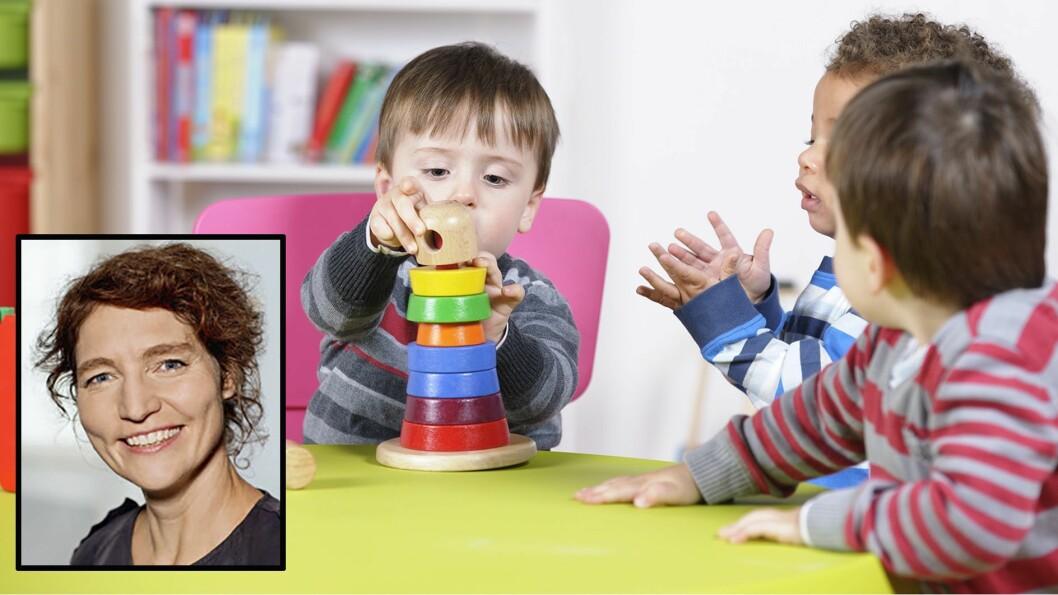 - Det vil alltid være interessekonflikter, men helt små barn kan altså forstå at man ikke skal trumfe sin vilje gjennom på andres bekostning, sier professor Lotte Thomsen. Illustrasjonsfoto: Getty Images