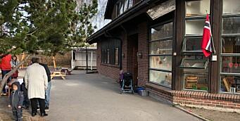 Har plassert folk med voldelig eller truende atferd hundre meter unna barnehagen