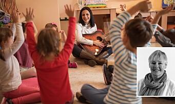 Har skrevet bok om rytmens pedagogikk: – Det er en form for rytme i all bevegelse