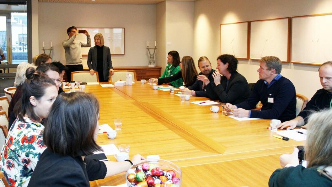 Onsdag inviterte partiet Venstre til minihøring om barnehagekvalitet.