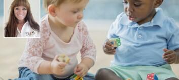 «Har alle barn med seg leker hjemmefra? Svaret er helt klart nei»