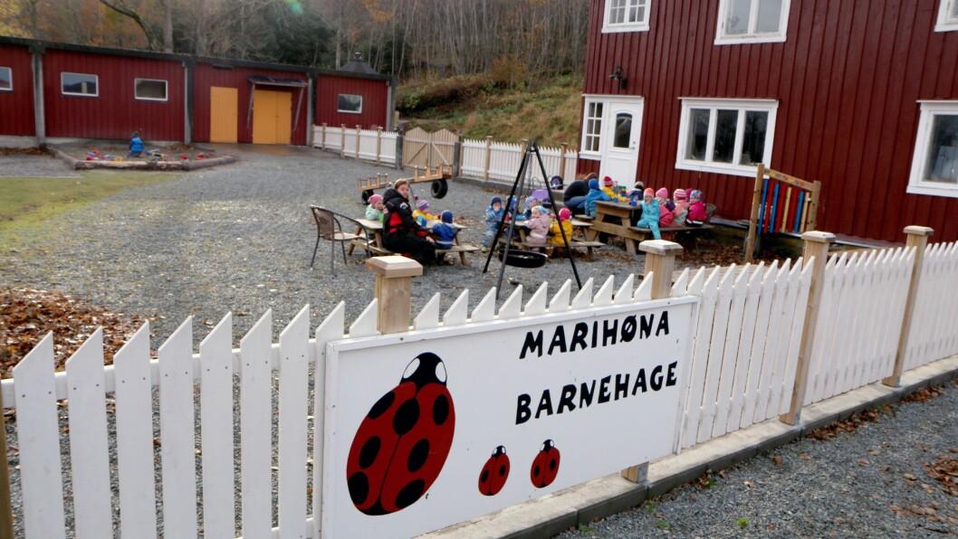 Barnehagen kunne åpne i januar, i nyoppussede lokaler like ved et stort friluftsområde.