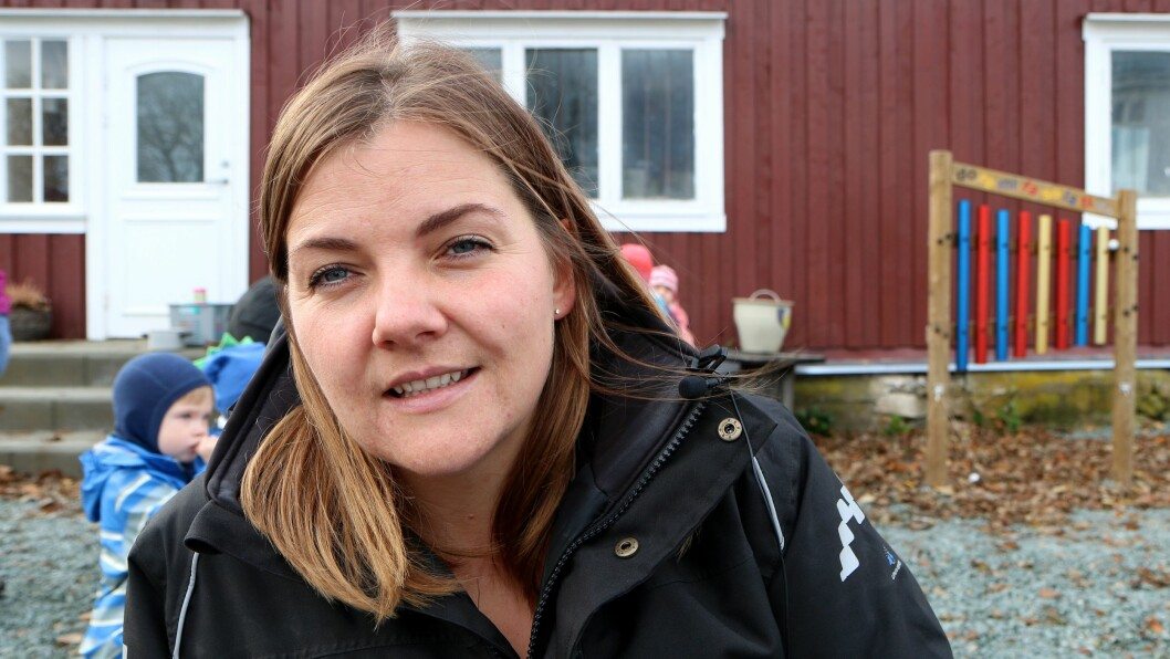 Da pedagogisk leder Torunn Strøm fikk beskjed om at løsningen var på plass - i tolvte time - sa hun: Hva var det jeg sa! - Jeg tenkte hele tiden at det kom til å løse seg, sier hun.