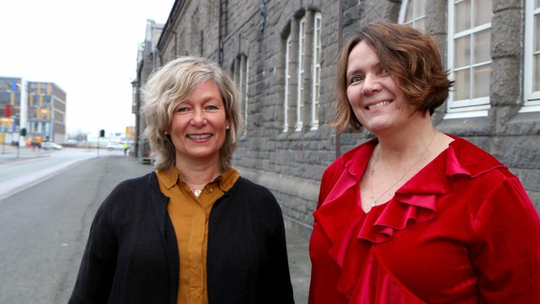 Karin Hognestad og Marit Bøe har forsket sammen på ledelse, og blant annet sett på forholdet mellom barnehagestyreren og den pedagogiske lederen.