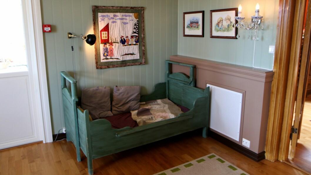 Marihøna musikk- og friluftsbarnehage ligger i et hus fullt av detaljer, både når det kommer til interiør og inventar.