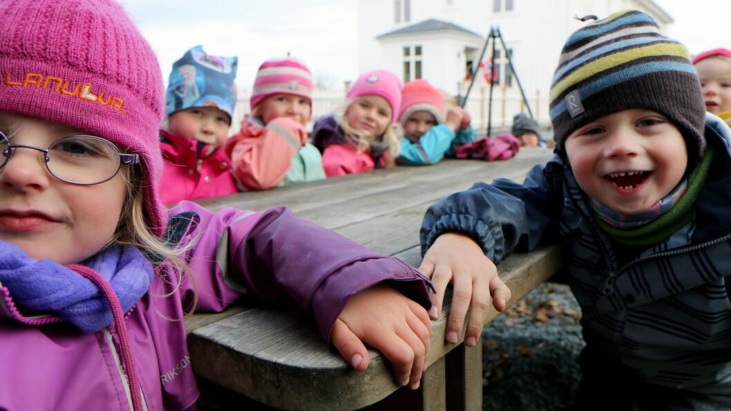 Barna i Marihøna musikk- og friluftsbarnehage var uvitende om dramaet som kunne ført til at de måtte bytte barnehage.