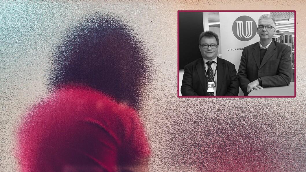 Professorene Morten Holmboe og Tor-Geir Myhrer vedPolitihøgskolen tar til orde for flere innstramminger i lovverket knyttet til politiattest i sin nye bok.