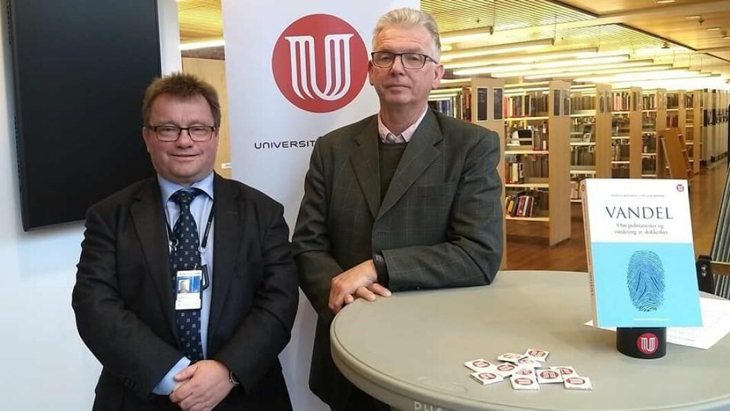De to professorene Morten Holmboe og Tor-Geir Myhrer har tatt et dypdykk i hva politiattestene egentlig inneholder.