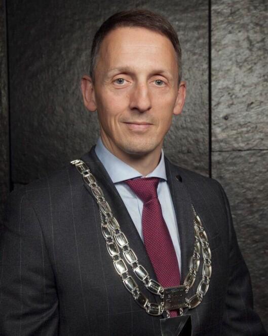 Ordfører Tom Myrvold i Ørland kommune.