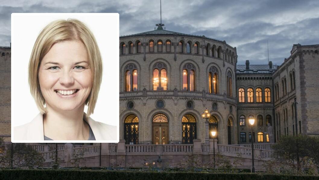 Guri Melby (V) etterlyste venstresida i debatten om kvalitet i barnehagen i Stortinget denne uka. I dag møtte hun SV-leder Audun Lysbakken til debatt i Politisk kvarter på Nrk.