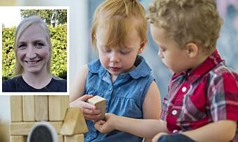 Likestilling i barnehagen