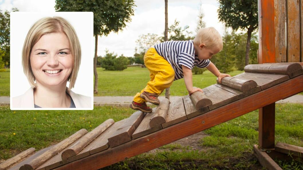 Guri Melby (V) har i flere fora forsøkt å få debatten til å handle om kvalitet, ikke eierskap, i norske barnehager.