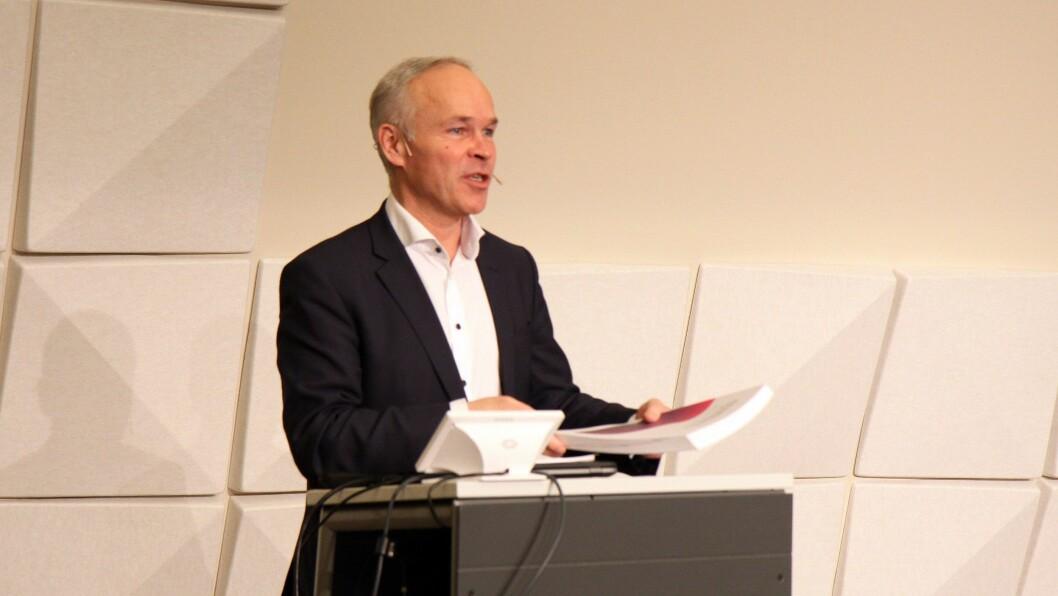 Onsdag mottok kunnskaps- og integreringsminister Jan Tore Sanner (H) rapporten om barnehagelærerens rolle.