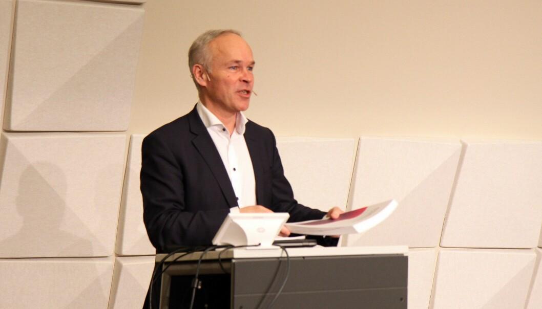 Finansminister Jan Tore Sanner (H), her fra tiden som kunnskaps- og integreringsminister.
