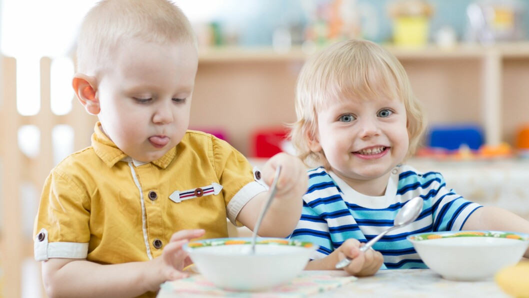 Helsedirektoratets anbefalinger for mat og måltider i barnehagen er oppdatert.
