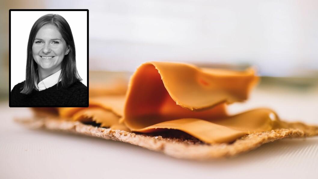 - Det viktigste å ta med seg til bords er at vanlig mat, som brunost og yoghurt, er bra nok, sier ernæringsrådgiver Thea Myklebust-Hansen.