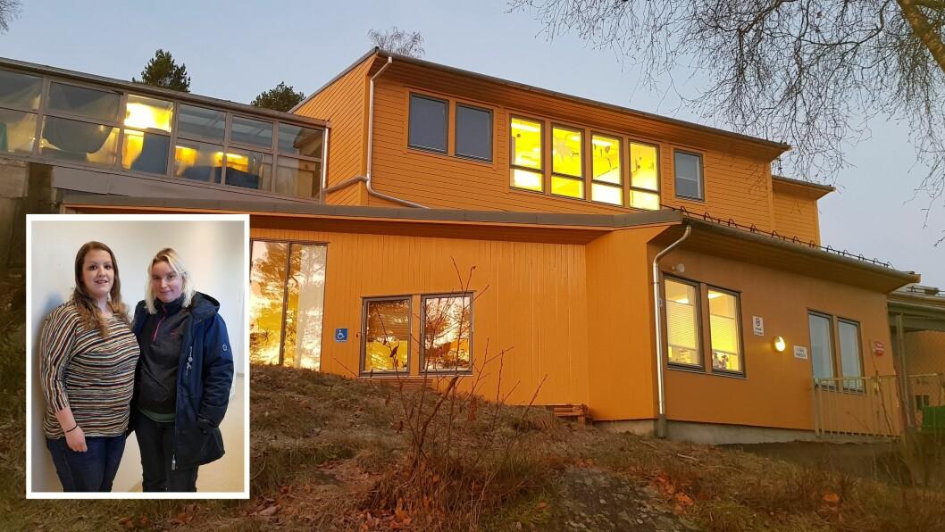 Rådmannen i Askøy kommune foreslår i sitt budsjettforslag å utsette full innføring av bemanningsnormen i de kommunale barnehagene til 1. august 2019, og at de to kommunale barnehagene Furuly og Ask ikke lenger skal få midler til utvidet åpningstid. Det har fått foreldrerepresentantene til Furuly barnehage, Camilla Pedersen (venstre) og Elise Kleppe (høyre), til å reagere.