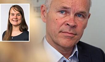 Strand (Sp) utfordret ministeren: – Finansieringssystemet skaper konflikt