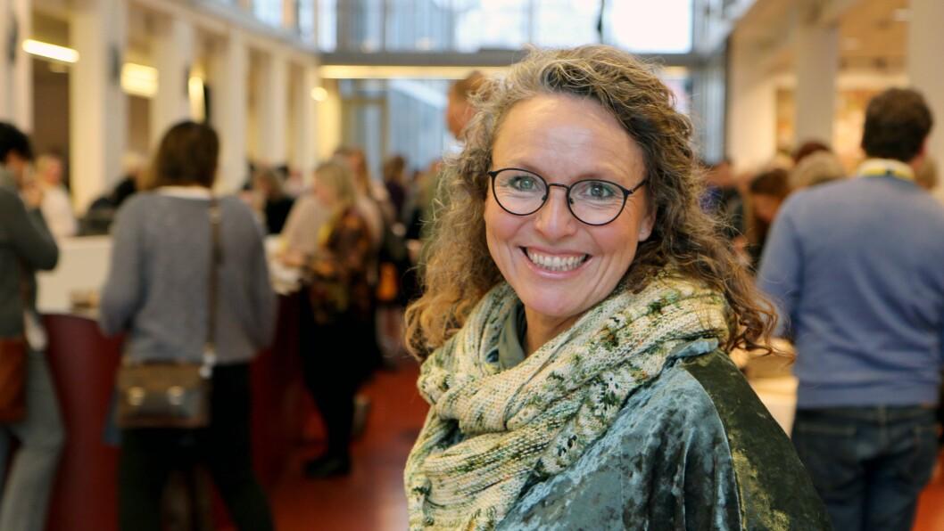 Kristin Danielsen Wolf er en av i alt ni stipendiater tilknyttet GoBaN-prosjektet. I dag fortalte hun om forskningen sin under sluttkonferansen for prosjektet.