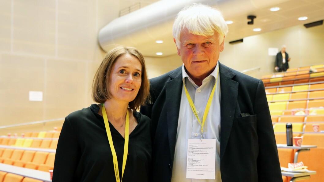 Elisabeth Bjørnestad og Lars Gulbrandsen presenterte mandag hovedfunnene fra GoBaN-prosjektet. Prosjektleder Bjørnestad er tydelig når hun påpeker at barnehagenes tilsyn med barna er for dårlig.