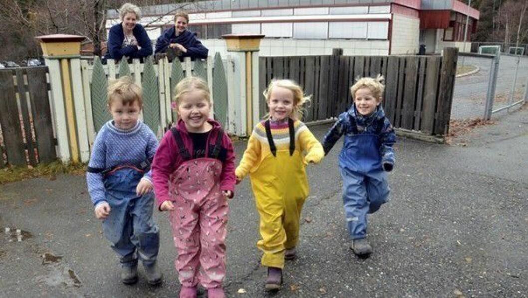 Fra og med i år blir skolestarterne i Lillehammer kommune fulgt ekstra tett. Styrer Anne Grete Moen i Vingar barnehage og rådgiver Hanna Diesen Øvre er blant dem som skal sørge for det.