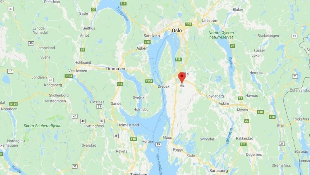 Et barn har blitt smittet av svineinfluensa i Rustadskogen barnehage i Ås.