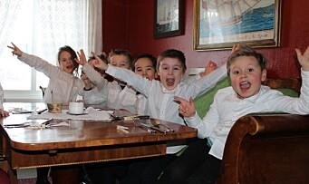 Barnehagebarn tok over restaurant: – Det ble en stor suksess