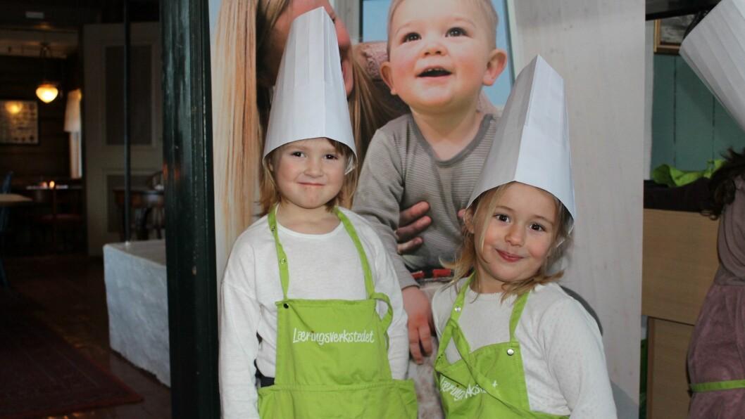 Målet med prosjektet var at barna skulle ha det gøy og føle mestringsglede, opplyser matansvarlig i barnehagen, Rune Stølan.