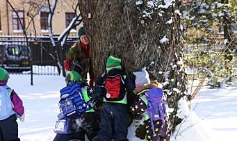 – Når barn blir glade i naturen ønsker de også å ta vare på den