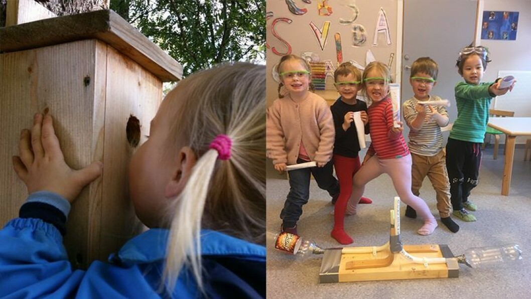 Røysing barnehage vant prisen for sitt «Fugleprosjekt for småbarn», og Skavli barnehage vant for prosjektet «Odd er et egg».