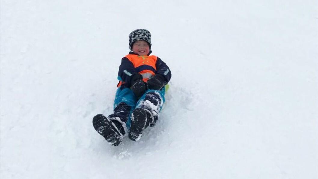 Onsdag denne uken var over 200 barnehagebarn samlet i akebakken i Kniplia skianlegg i Gjerdrum.